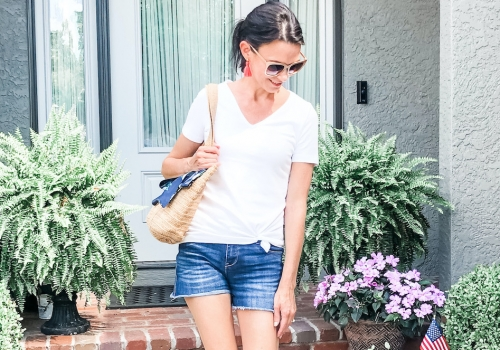 Three Ways to Wear Denim Shorts